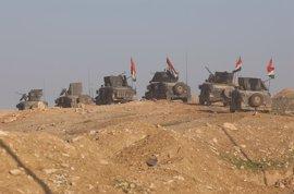 Las fuerzas de Irak toman un puente que conecta la Ciudad Vieja de Mosul con el este de la ciudad