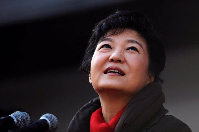 Park Geun Hye, en una imagen de archivo