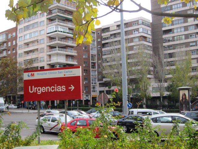 Urgencias Del Hospital Clínico San Carlos De Madrid