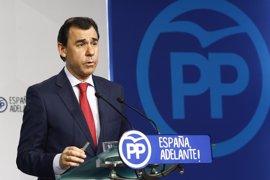 Maillo dice que en este momento el PP no se plantea ninguna alternativa en Murcia y pide a Cs no precipitarse
