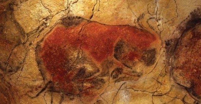 Bisontes de la cueva de Altamira (Archivo)