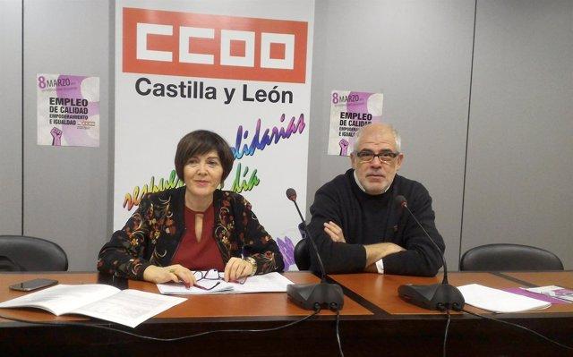 Martínez y Castedo durante la rueda de prensa