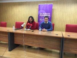 Podemos programa una ronda de reuniones en la provincia de Burgos para impulsar un plan alternativo a la central
