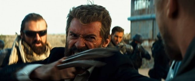 Hugh Jackman en Logan