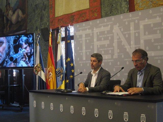 Bernabé y Martínez, en rueda de prensa