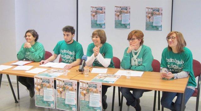 Valladolid. Presentación de la huelga educativa