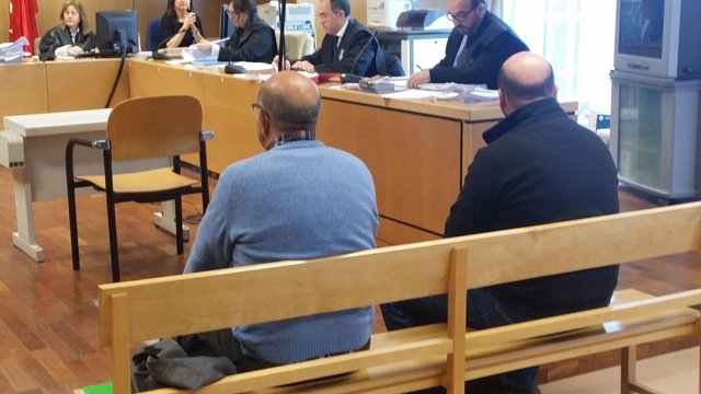 Juicio de acusados de quemar una urbanización en Las Rozas