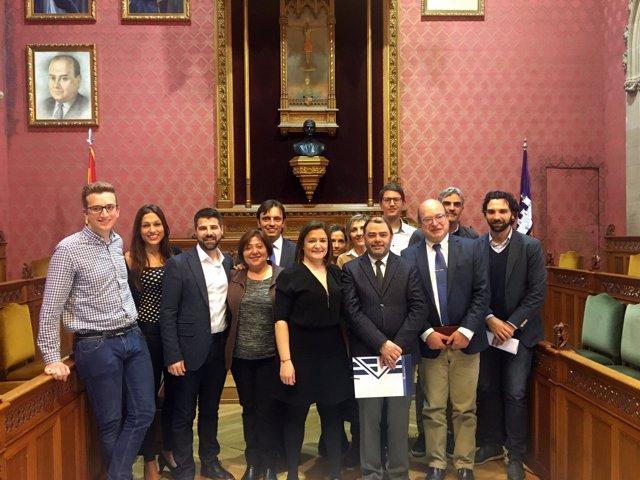 Pleno del Consell en el que se ha aprobado el rescate del túnel de Sóller