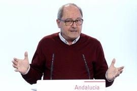 """PSOE-A afirma que Andalucía sí tiene """"estabilidad política"""", con un acuerdo de investidura que está dando """"resultados"""""""