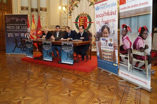 Valladolid. Presentación de la carrera Ríos de Luz