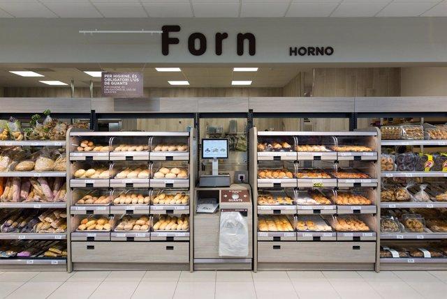 Nueva sección Horno de las tiendas eficientes de Mercadona