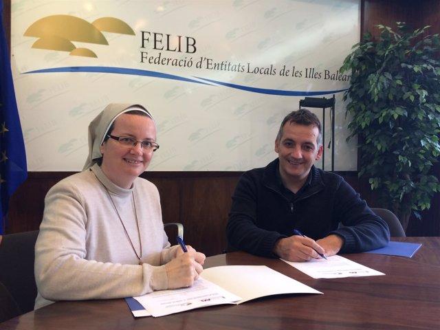 Firma de un convenio de colaboración entre la FELIB y el CESAG