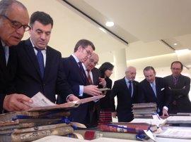 Banco Sabadell deposita el fondo documental del Banco Gallego en el Arquivo de Galicia