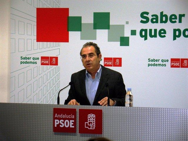 Diego Asensio, ex secretario provincial del PSOE de Almería
