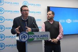 """El PP señala que las nuevas grabaciones sitúan a Caraballo """"en el epicentro de la trama"""" en Aljaraque"""