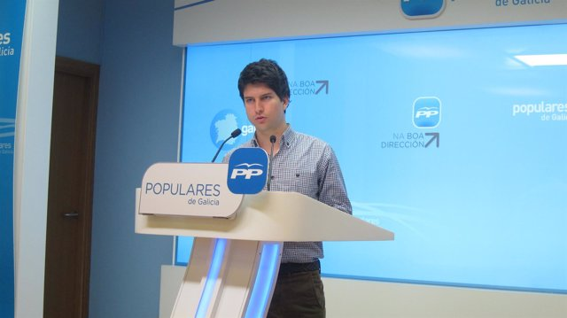 Diego Gago, presidente NN.GG PPdeG