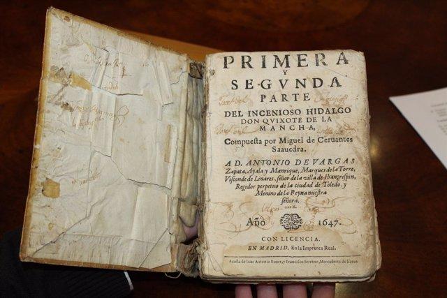 Edición de El Quijote de 1647.