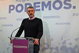 """Podemos denuncia que presidente murciano ha entrado y salido """"imputado"""" y advierte que no se arrugará ante sus amenazas"""