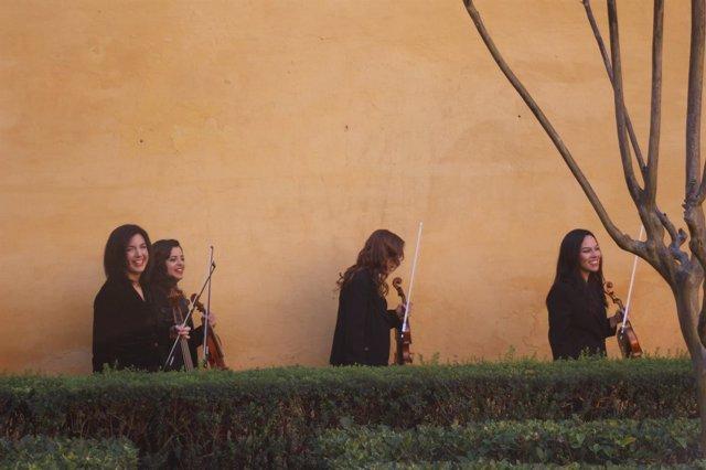 El cuarteto de cuerda Almaclara-Inés Rosales presenta 'Réquien de Mozart'