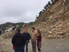 Diputación de Huelva comenzará a final de abril los trabajos en la carretera que une El Granado con Pomarao