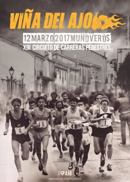Cartel de la IX Viña del Ajo de Muñoveros (Segovia)