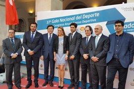 Real Madrid, FC Barcelona, Sevilla y los olímpicos, entre los premiados en la Gala de la AEPD en Valladolid