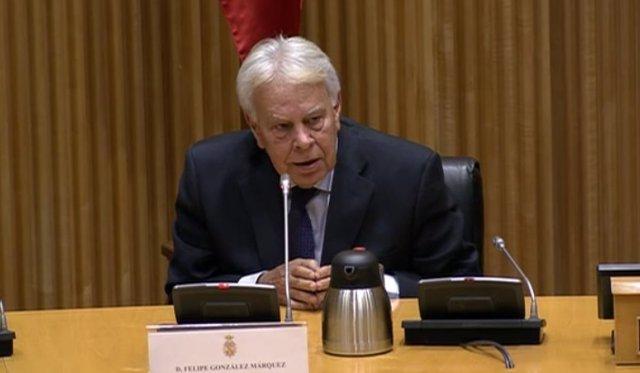 Felipe González en el Congreso