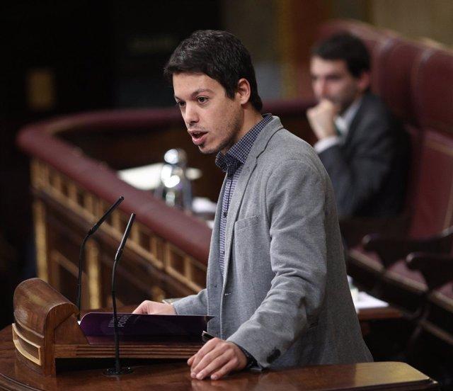 Segundo González, diputado de Podemos