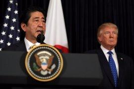 """Trump respalda a Japón """"al 100%"""" tras el lanzamiento de misiles por parte de Corea del Norte"""