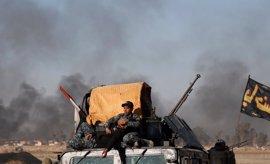 Las fuerzas de Irak arrebatan a Estado Islámico otro barrio en el oeste de Mosul y avanzan hacia la Ciudad Vieja