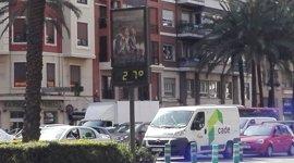 Las temperaturas alcanzarán este martes los 26ºC en la Comunitat Valenciana