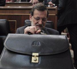 Rajoy contestará mañana en el Congreso a preguntas sobre la justicia, la financiación del PP y la igualdad