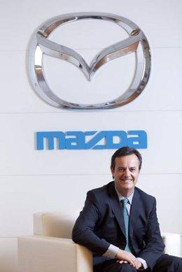 José María Terol, presidente y consejero delegado de Mazda España