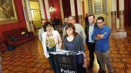 """Podemos abandona el pleno cuando habla el """"presunto mafioso"""" Gijón"""
