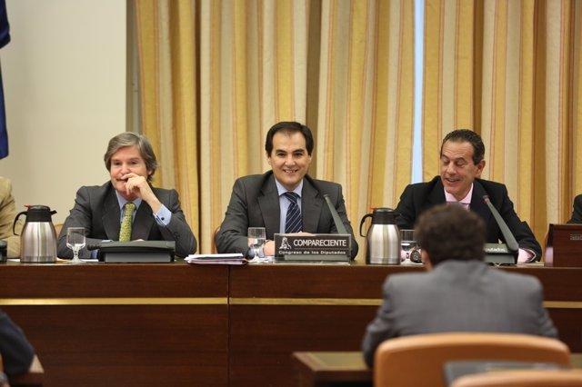 José Antonio Nieto, secretario de Estado de Seguridad, comparece en el Congreso