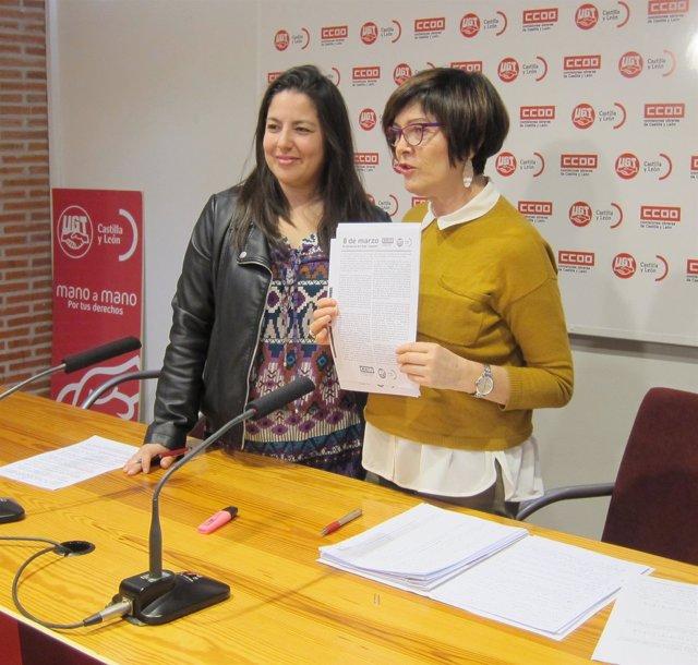 Valladolid. Responsables de igualdad presentan el manifiesto del 8 de marzo