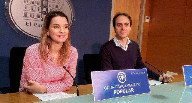 Margalida Prohens y Álvaro Gijón