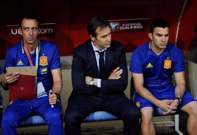 Julen Lopetegui, seleccionador de España