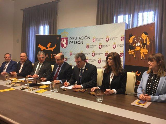 Presentación Del SICA 2017 En La Diputación De León.