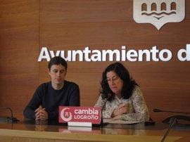 """Cambia Logroño plantea un área municipal específica de la mujer """"con políticas trasversales"""""""