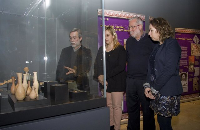 Exposición sobre el papel de la mujer en el Imperio Romano en el MUPAC