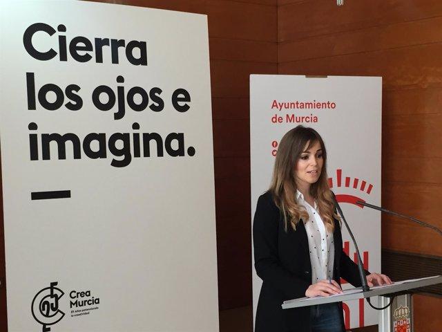 La concejal Rebeca Pérez