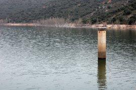"""Agua.- Los embalses se sitúan en el 58,5 por ciento del total tras las """"abundantes"""" precipitaciones de esta semana"""