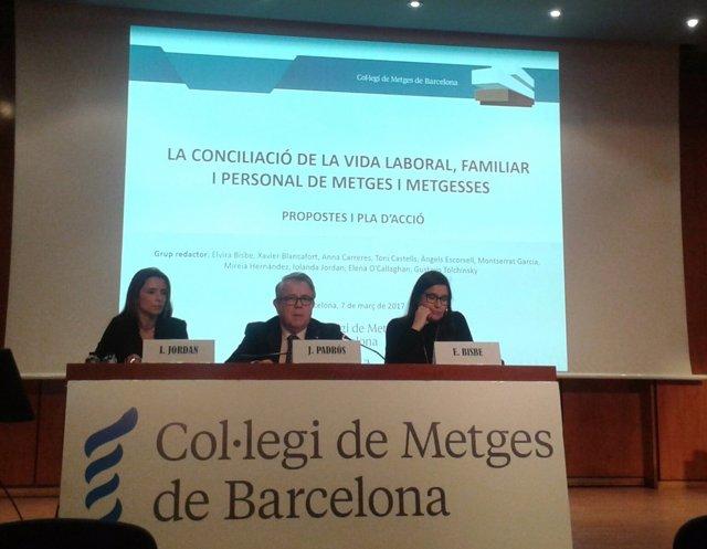Iolanda Jordan, Jaume Padrós y Elvira Bisbe, COMB