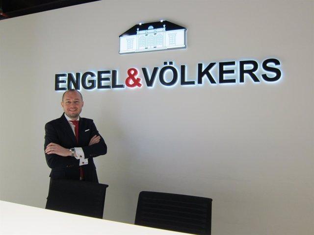 Oriol Canal, director de Engel&Völkers en Barcelona