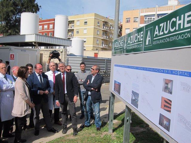 Pedro Antonio Sánchez, presenta el nuevo edificio del Morales