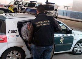Guardia Civil detiene a cinco jóvenes, dos de ellos menores, por asaltar una vivienda y maniatar a la víctima
