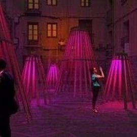 Concéntrico exhibirá figuras del vino de arquitectos de Singapur y tendrá un pabellón central de 'origami'
