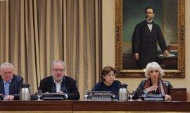 """UGT y STES defienden en el Congreso la huelga y PP y Cs avisan de que """"no es la mejor forma"""" de negociar el pacto"""