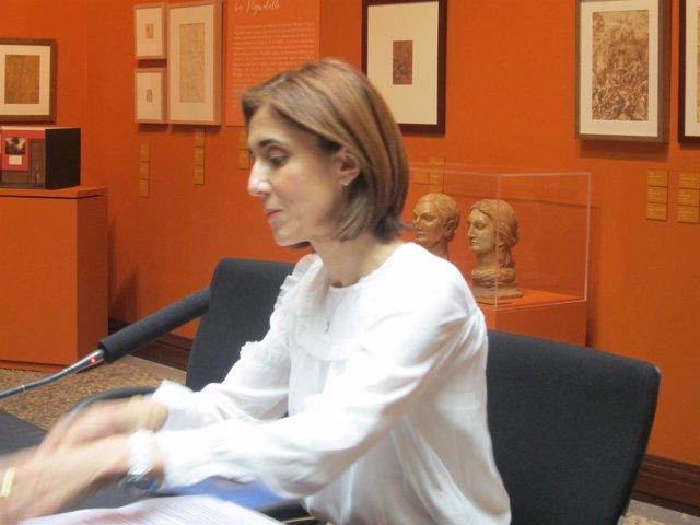 La presidenta de Microsoft España, Pilar López, imparte una charla en Ibercaja